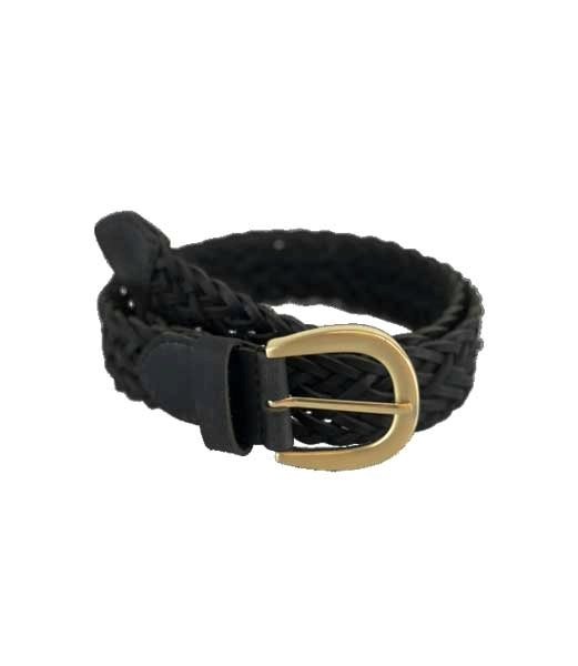 Black Colour Coach Belt Black