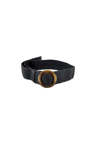 Black Colour Delia Belt Black