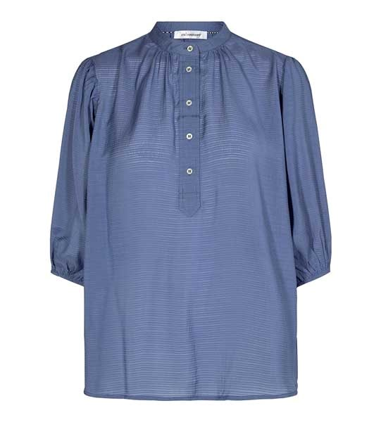 Co Couture Pauline Summer Shirt Blue