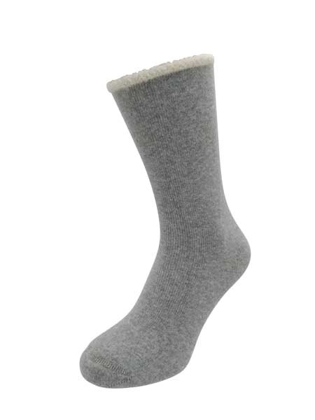 Cozy Hug Soft Wool Sock Light Grey
