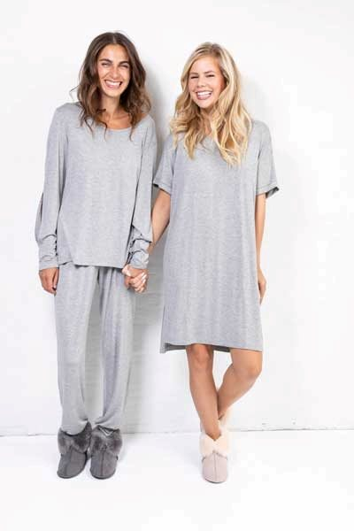 Cozy Me Time Night Pants Grey
