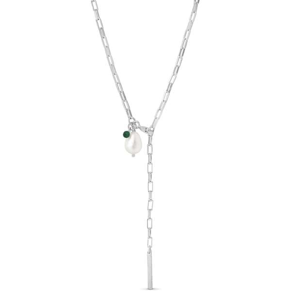 Enamel Azra necklace silver