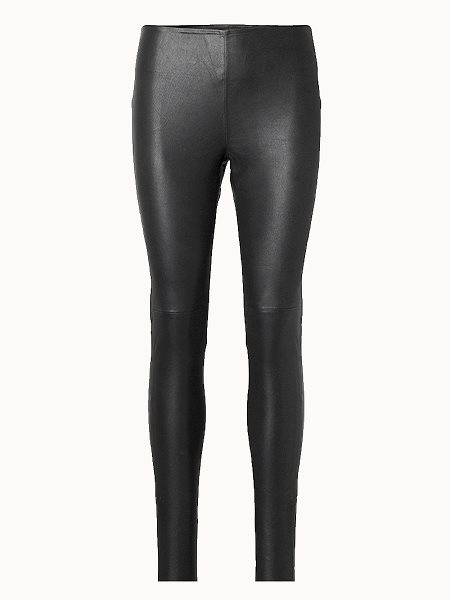 Fine Copenhagen Amy Leather Leggings Black