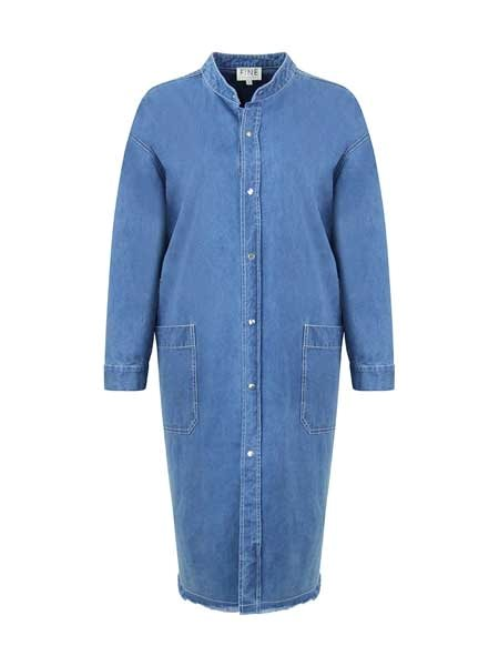 Fine Cph Laurent Shirt Dress Chambray