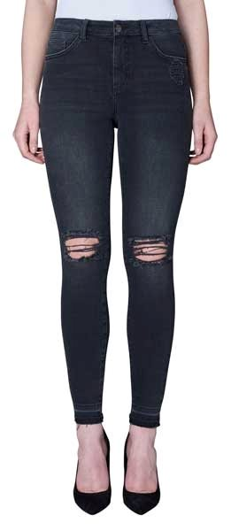 Five Units Kate Jeans Black Milton