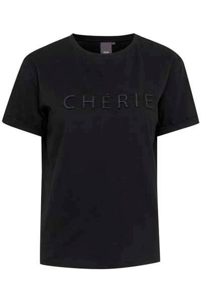 Ichi Ihcherie Tee Black