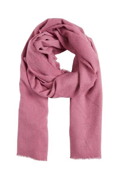 Ichi Kelly Scarf Red Violet