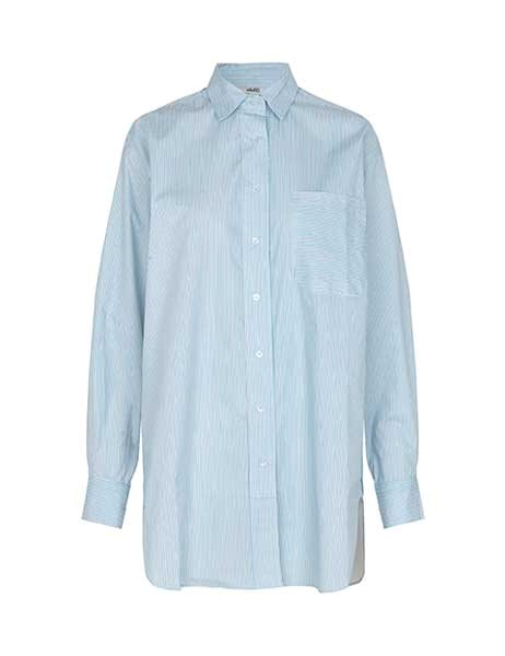 MbyM Brisa shirt Blue-white Stripe