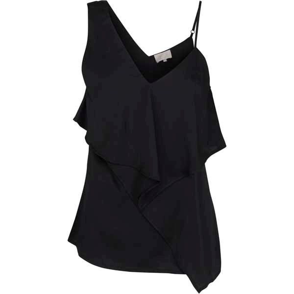 Minus Amy Top Black
