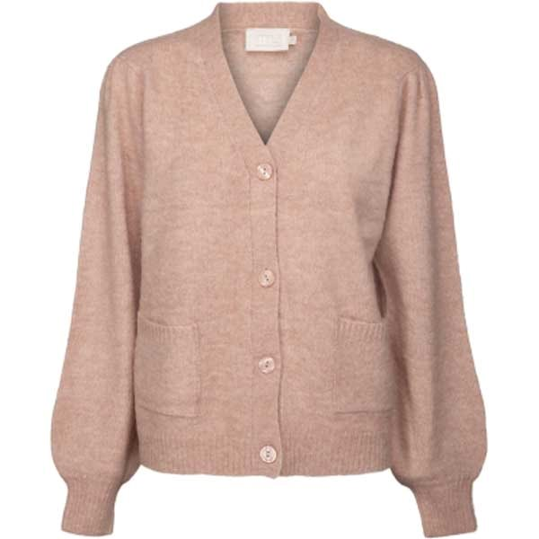 Minus Angie knit cardigan rose