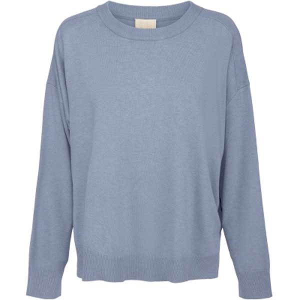 Minus Elne knit dusty blue melange