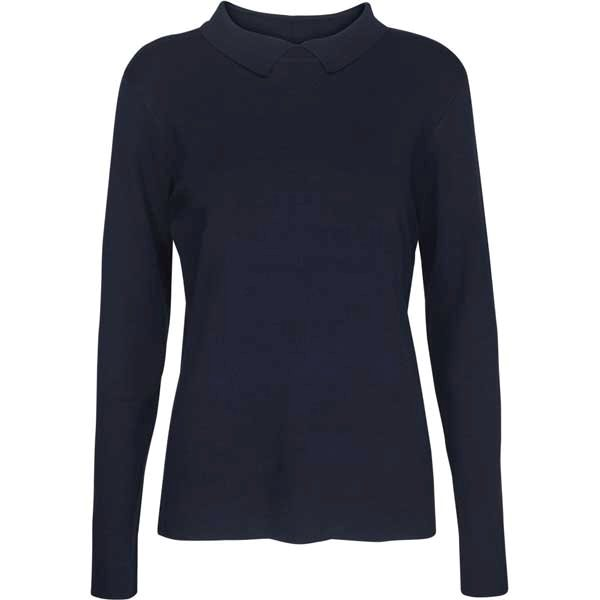 Minus Jill Polo Knit Navy