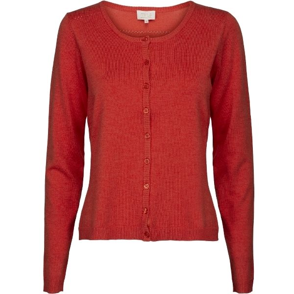 Minus Laura Cardigan Fiery Red