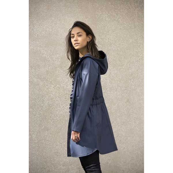 Minus Lova Raincoat navy
