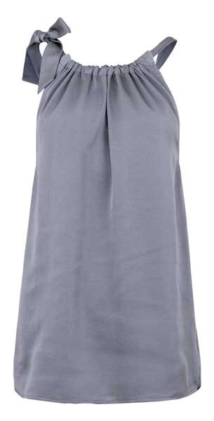 Neo Noir Linea Top Grey