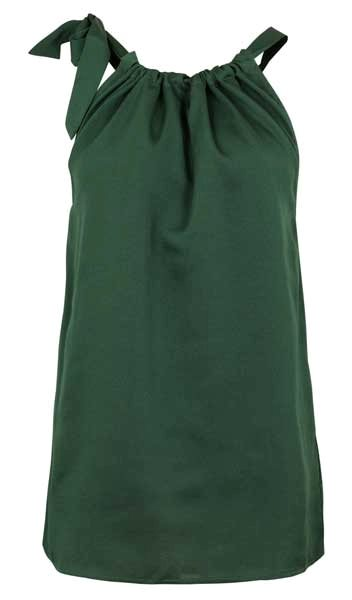 Neo Noir Linea Top Green