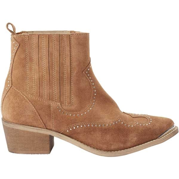 Pavement Ruth Boots Taupe Suede