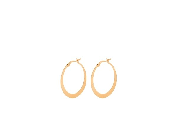 Pernille Corydon Small Escape Hoops Gold