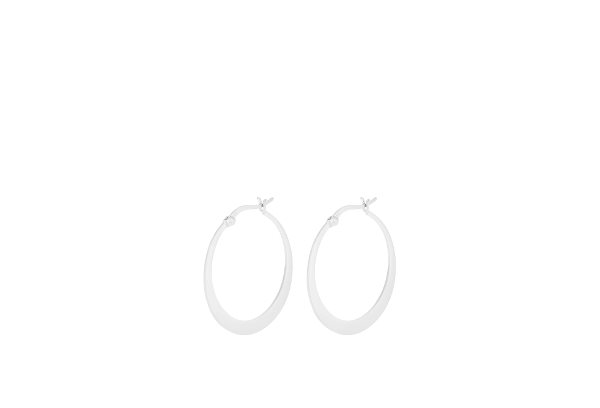 Pernille Corydon Small Escape Hoops Silver