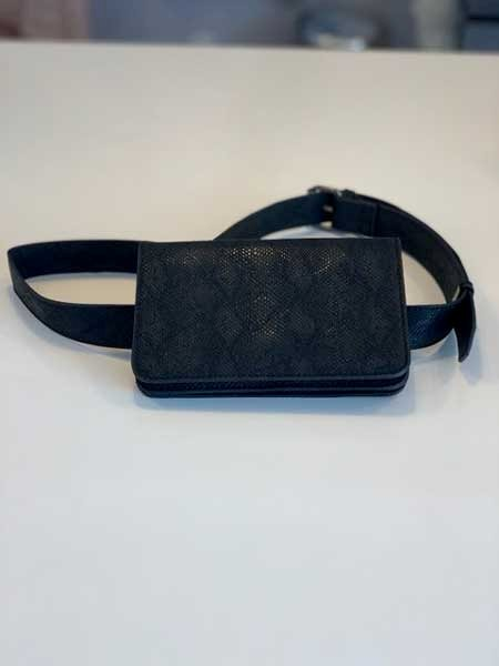 Rosemunde B0254 Belt Bag Black Snake