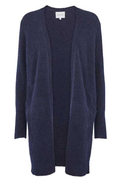 Second Female Brook Knit Cape Navy