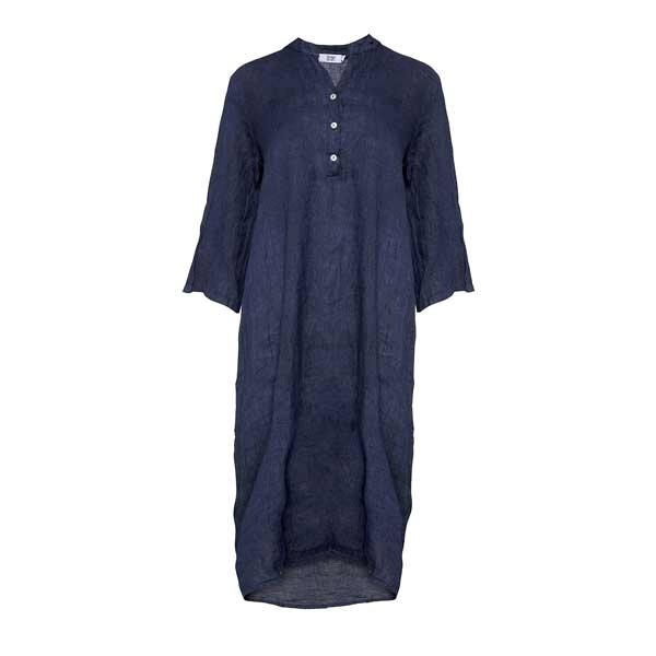 Tiffany 18970 Dress Linen Navy